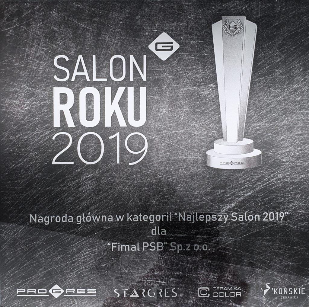 Salon Łazienek Fimal salonem roku 2019