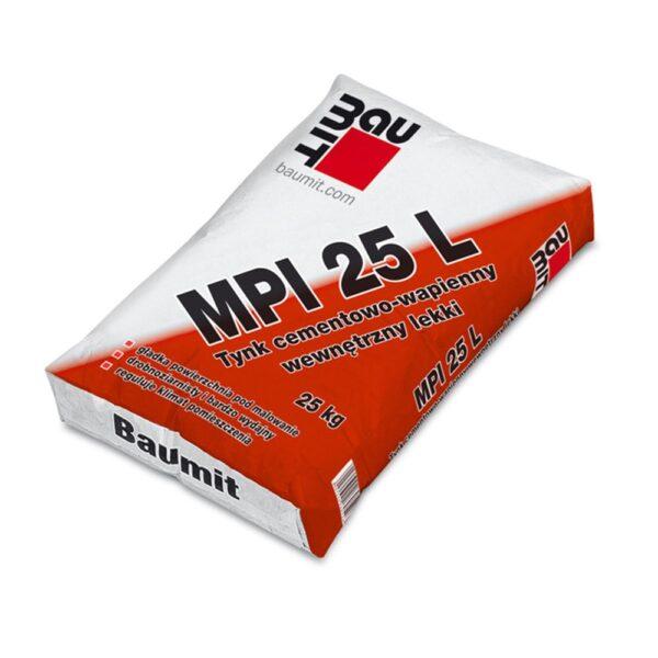Tynk cementowo-wapienny wewnętrzny Baumit MPI 25