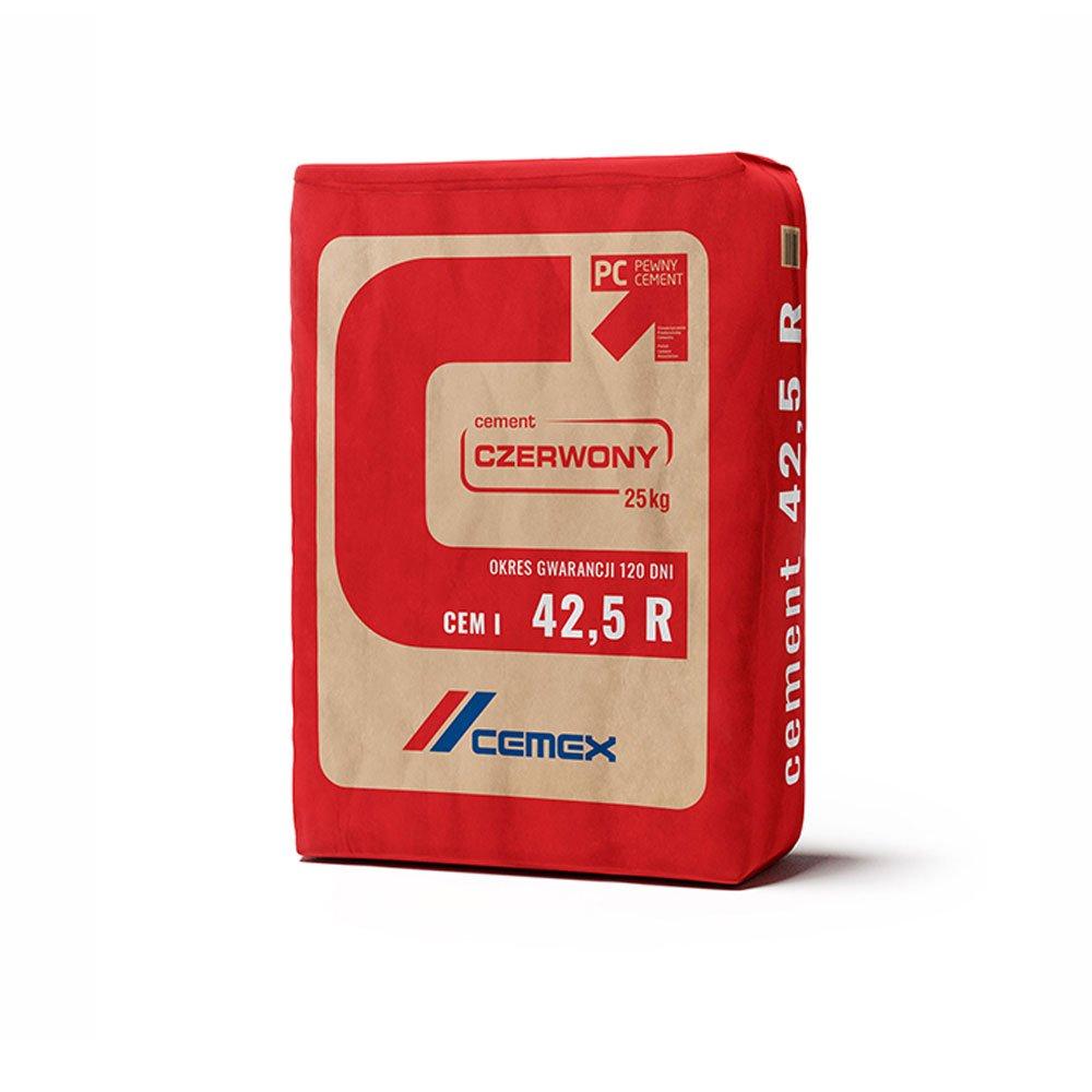 Cement CZERWONY CEMEX 25KG