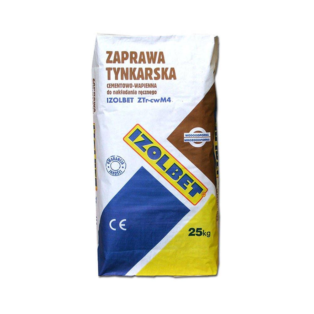 Zaprawa tynkarska IZOLBET ZTr-cwM4 25kg