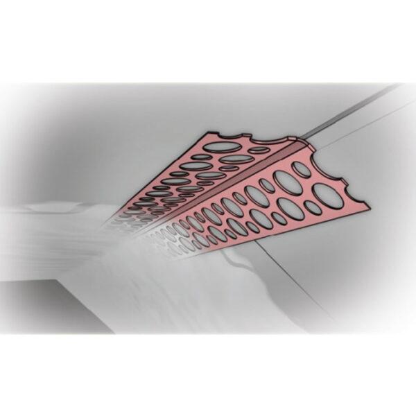 Narożnik aluminiowy rozwartokątny Metpol
