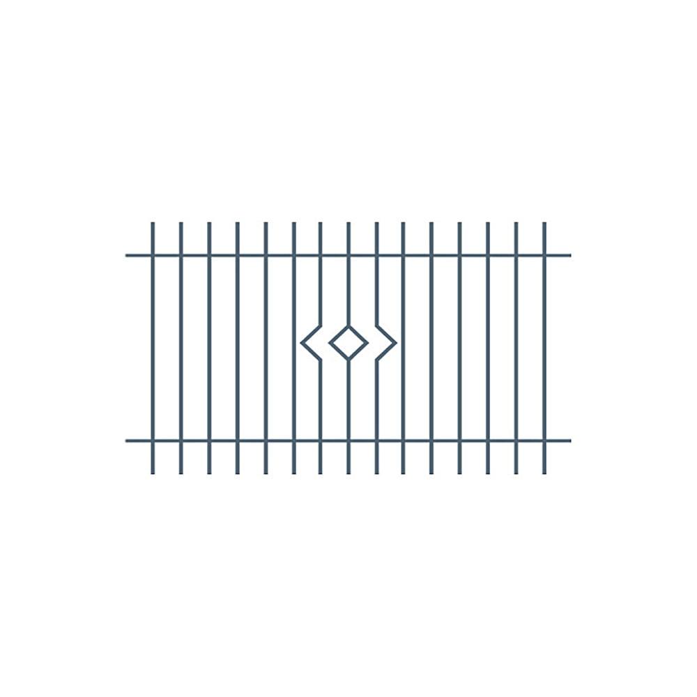Przęsło ogrodzeniowe Nikola II 2,0X1,2M Polbram