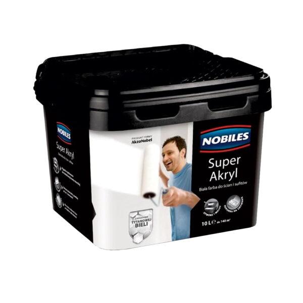 Farba akrylowa Nobiles Super Akryl 10l