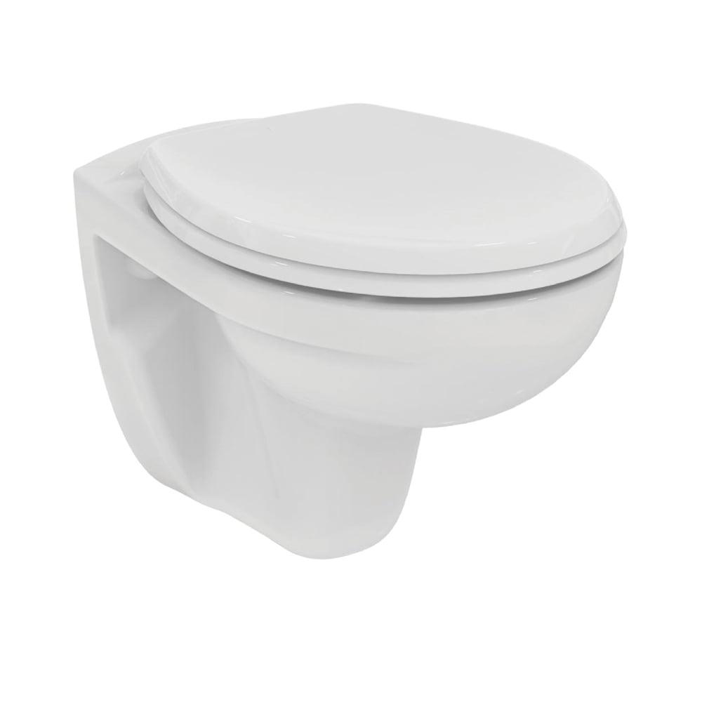 Bezkołnierzowa miska wisząca WC Eurovit