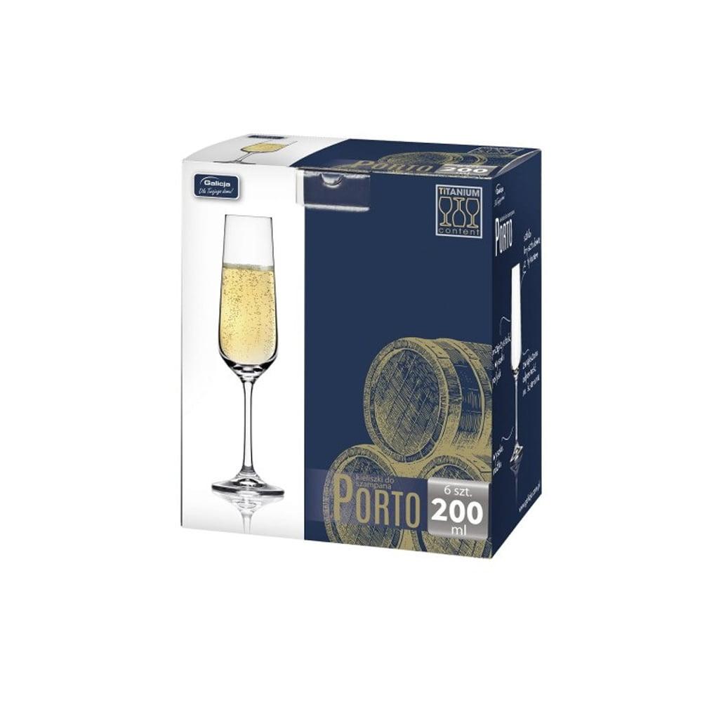 Zestaw Kieliszków do szampana Galicja