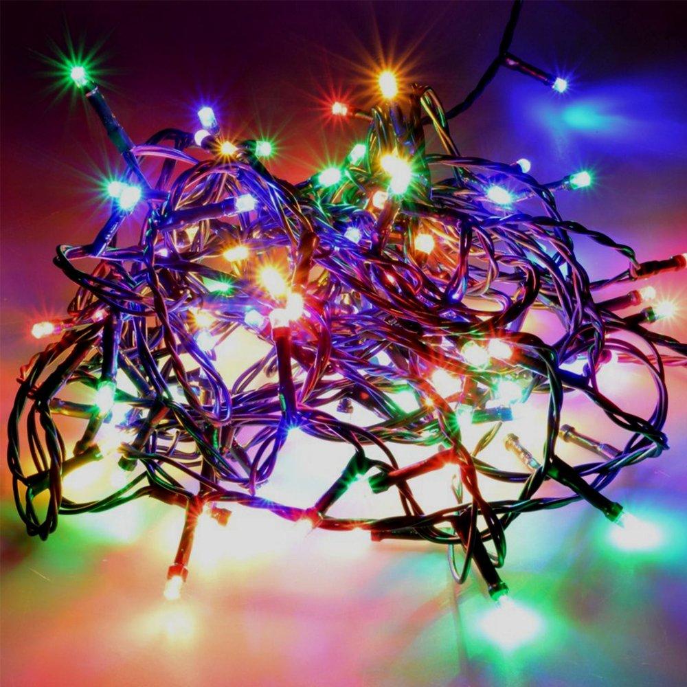 Lampki choinkowe multi-color LED 6m