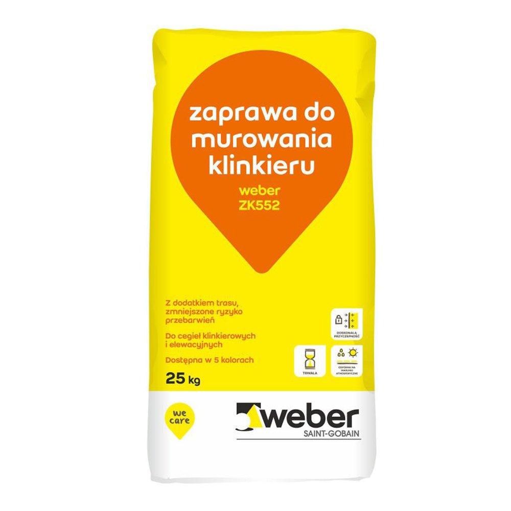 Zaprawa WEBER ZK552 25kg