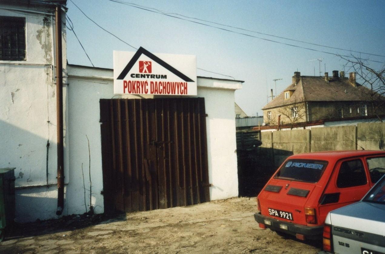 centrum pokryć dachowych w 1996